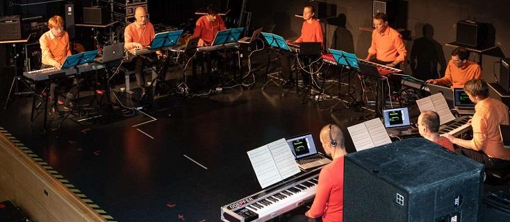 L'ensemble Mosaik joue Enno Poppe au Festival de Donaueschingen 2018