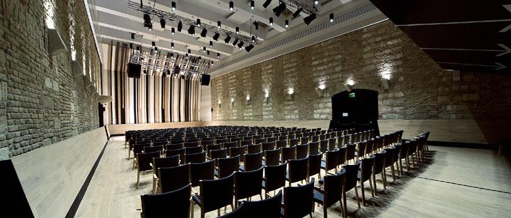 la nouvelle salle du Budapest Music Center, dévoué à la création