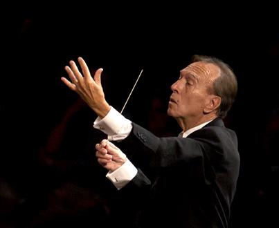 Claudio Abbado et son Orchestre Mozart à Paris, avec Radu Lupu