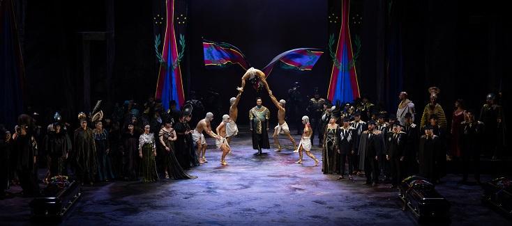 """Le Grand Théâtre de Genève présente """"Aida"""" de Verdi, mis en scène par McDermott"""