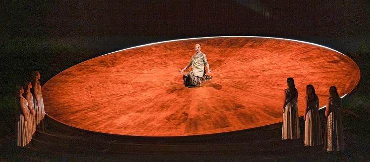 """""""Akhnaten"""", opéra de Philip Glass vu à Nice à l'automne 2020"""