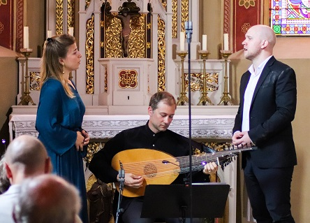 Suzanne Jérosme, Jan Čižmář et Eric Jurenas en récital au Festival d'Innsbruck