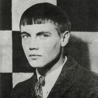 portrait photographique du compositeur George Antheil par Man Ray