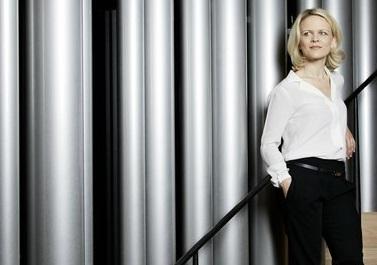 l'organiste Iveta Apkalna, invitée de l'Orchestre national de Lyon
