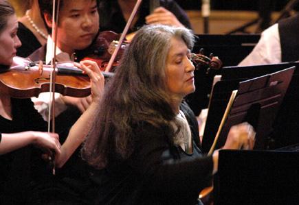 Martha Argerich joue le Concerto n°3 de Prokofiev au Festival de Verbier