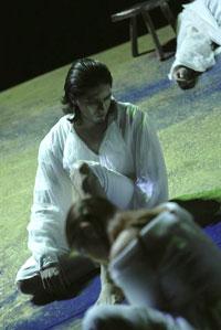 création mondiale des Aveugles de Xavier Dayer, opéra d'après Maeterlinck