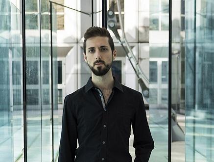 le compositeur Maurizio Azzan, en résidence à la Cité internationale des arts
