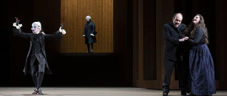 "Giancarlo Del Monaco met en scène ""Un ballo in maschera"" (Verdi) à Genève"