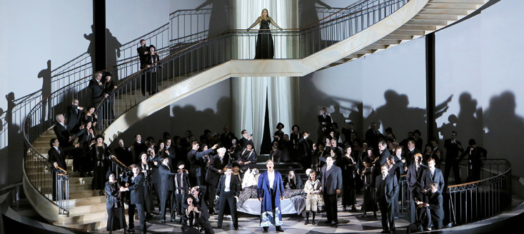 Un ballo in maschera (Verdi) à la Bayeriche Staatsoper, Munich 2016