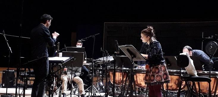 Guillaume Bourgogne dirige l'Ensemble Cairn dans Barraqué et Dusapin