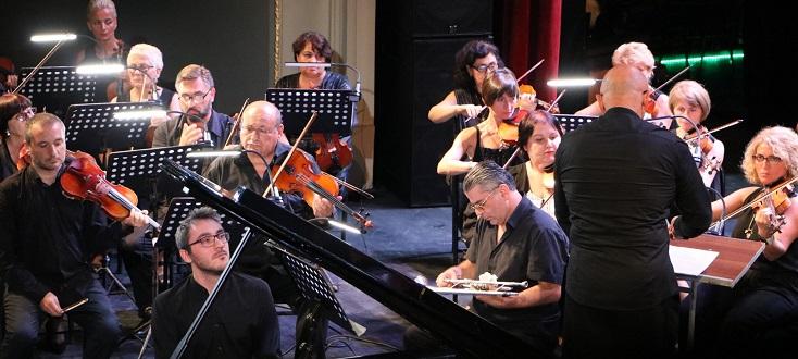 Le pianiste Alexander Gadjiev joue le 1er Concerto de Chostakovitch à Batoumi