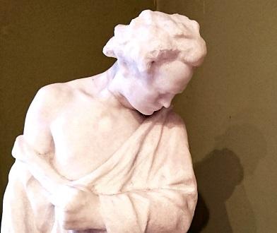 Beethoven sculpté par le Hongrois János Horvai en 1932 © Bertrand Bolognesi