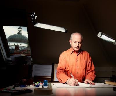 le compositeur George Benjamin, invité du Festival Messiaen au Pays de La Meije