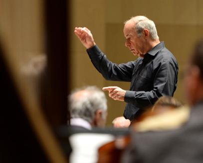 Matthias Bamert dirige l'Orchestre national de Lille : Sinfonia de Berio