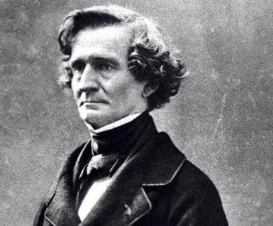 portrait photographique d'Hector Berlioz par Félix Nadar