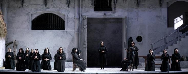 """création mondiale de """"La casa de Bernarda Alba"""", opéra de Miquel Ortega"""