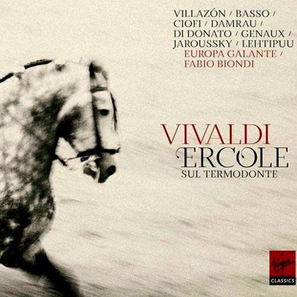 CD à paraître : Ercole sul Termodonte de Vivaldi par Fabio Biondi