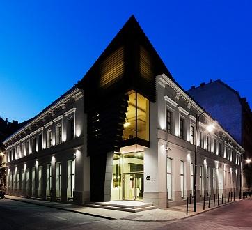 la nouvelle salle de concert du BMC, à Budapest : concert CPE. Bach