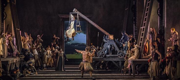 Salvo Sgrò joue Simon Boccanegra (1881), l'opéra de Verdi, à Lausanne
