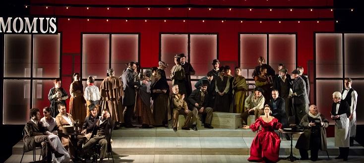 La bohème de Puccini, vu à l'Opéra Grand Avignon, en janvier 2019