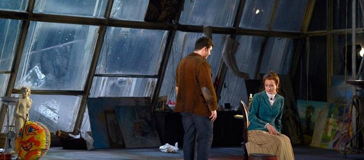 à la Deutsche oper Berlin, reprise réussie de La bohème de Götz Friedrich