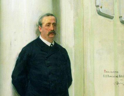 le compositeur Alexandre Borodine (1833-1887) peint par Ilia Répine