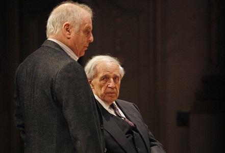 Daniel Barenboim et Pierre Boulez jouent les concerti de Liszt à Essen
