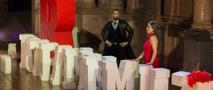 """Au Teatro Olimpico de Vicence, """"La cambiale di matrimonio"""" de Rossini"""