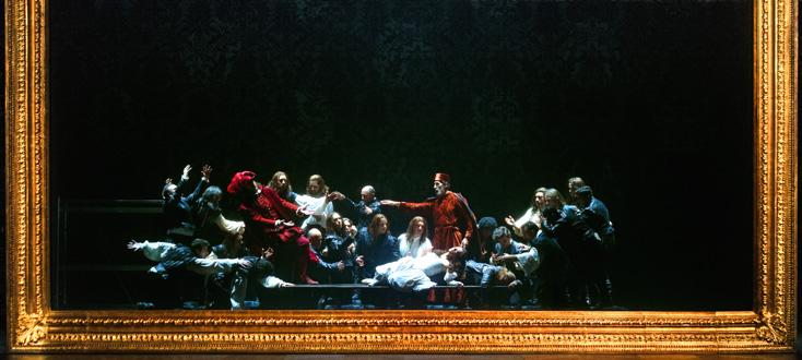 reprise du superbe Capuleti e Montecchi mis en scène par Arnaud Bernard à Oviedo