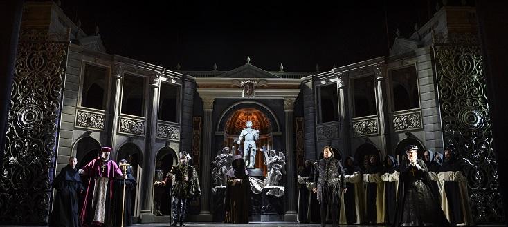 """Une nouvelle production de """"Don Carlos"""" de Verdi,à Liège, en version originale"""