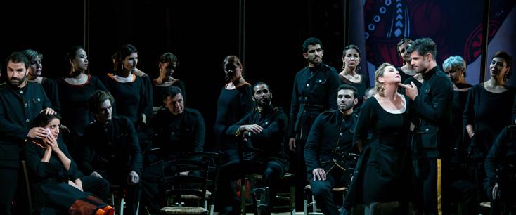 carmen (Bizet) vue par Louis Désirée à l'Opéra Grand Avignon