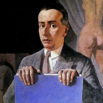 le compositeur Alfredo Casella peint par le Piémontais Felice Casorati