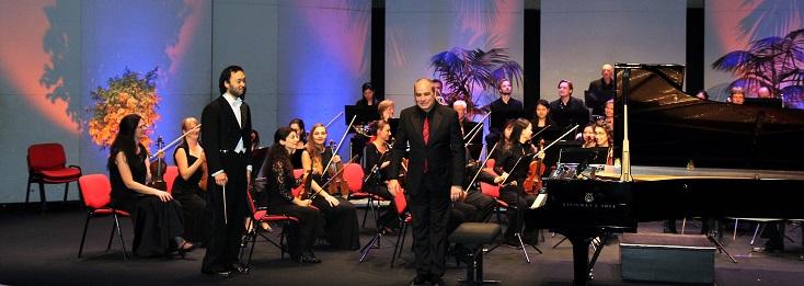 Philippe Cassard ouvre une édition Edvard Grieg à Aix-les-Bains