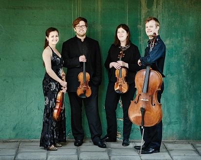 La Quatuor Castlian joue Mozart à la Streichquartettfest d'Heidelberg