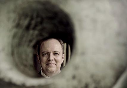 le chef Nicolas Chalvin photographié par Bernard Martinez