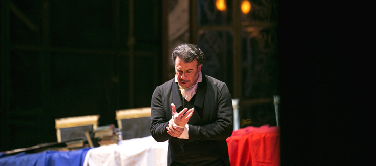 au Festival Castell Peralada, Andrea Chénier, opéra d'Umberto Giordano