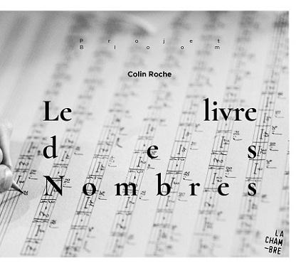 """pochette du CD """"Le livre des nombres"""" de Colin Roche"""