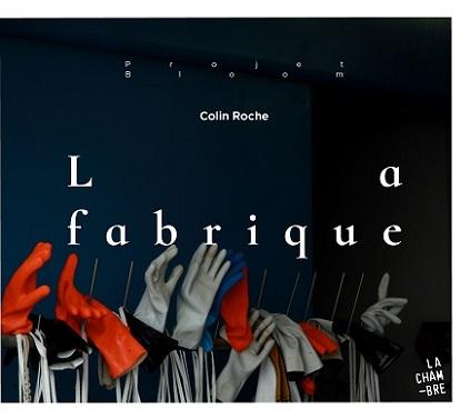 """pochette du CD """"La fabrique"""" de Colin Roche"""