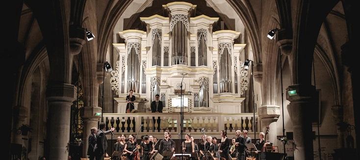 """création de """"Nun komm"""" d'Hersant au festival Bach en Combrailles 2019"""