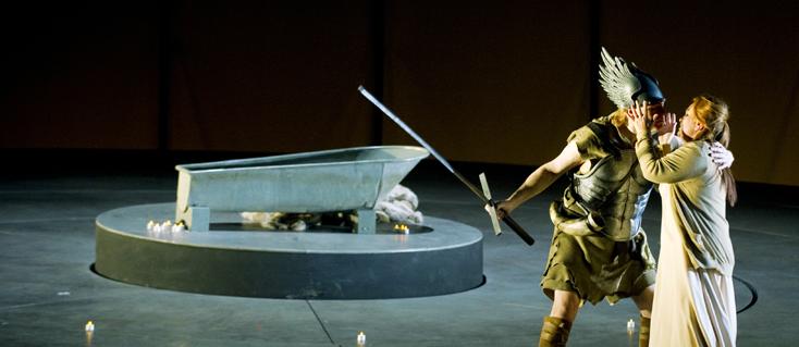 Götterdämmerung (Wagner) à l'Opéra de Francfort (photo Monika Rittershaus)