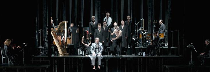 à l'Opéra national de Lyon, reprise de Curlew River (Britten) par Olivier Py