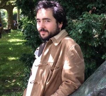 Le jeune compositeur Daniel Apodaka, au CNSMD de Paris