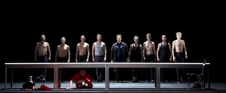 """Au Gärtnerplatztheater de Munich, """"Dantons Tod"""", opéra de Gottfried von Einem"""