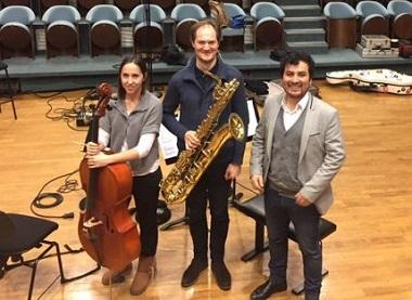 Le Duo Denisov joue Arroyo, Bonilla, Denisov, Garcia-Velasquez et Ibarra