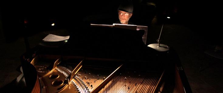 This is not a dream, concert-optique de Louise Moaty avec Alexeï Lioubimov