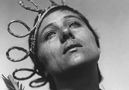 Bouleversante Renée Falconetti, Jeanne d'Arc vue par Dreyer en 1927