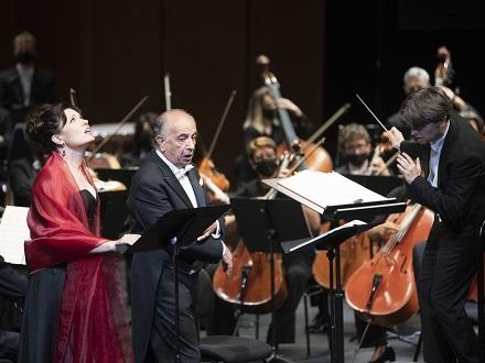 """Leo Nucci et Marina Rebeka chantent """"I due Foscari"""" au Festival d'Aix 2021"""