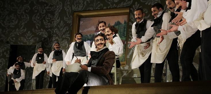 L'equivoco stravagante, dramma giocoso de Gioachino Rossini, à Pesaro...