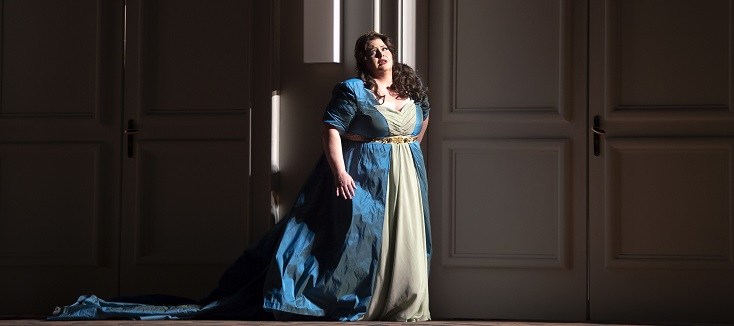 """""""Ermione"""" de Rossini au Teatro San Carlo de Naples, où il fut créé en 1819"""
