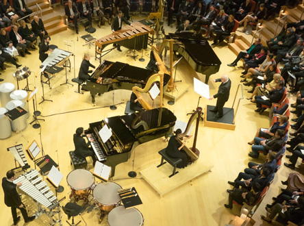 concert inaugural de la Pierre Boulez Saal de Berlin, par Daniel Barenboim